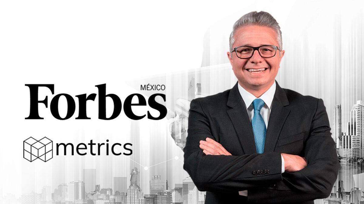 Inteligencia artificial, Algoritmos, Javier Murillo, Colaboraciones, Forbes México, Metrics, Metricser