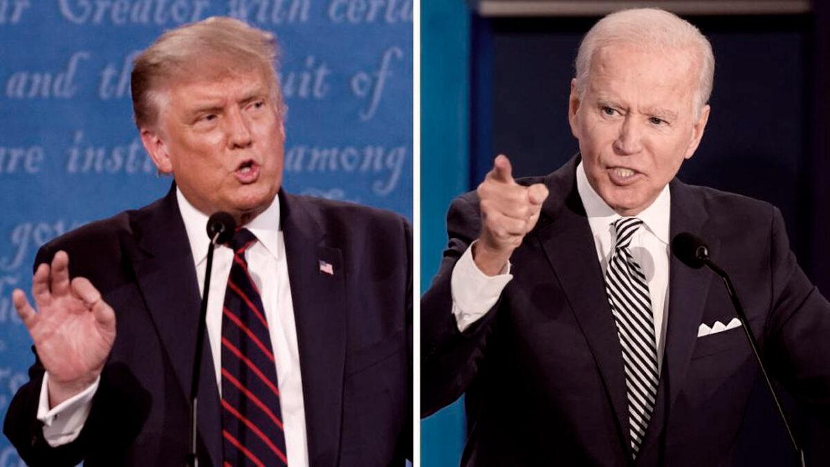 primer debate presidencial. eeuu, Trump, Biden, conversación digital, stakeholders, metrics, metricser