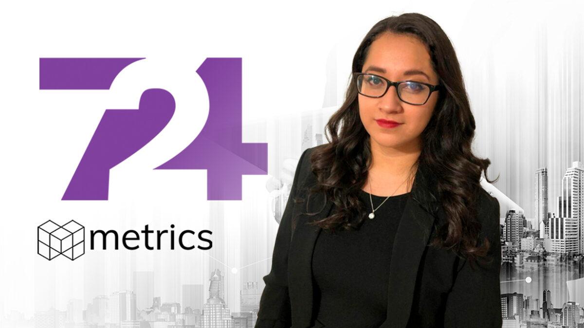 Agenda pública, Conversación digital, Siete24, Colaboraciones, Metrics, Metricser, Brenda Rivera